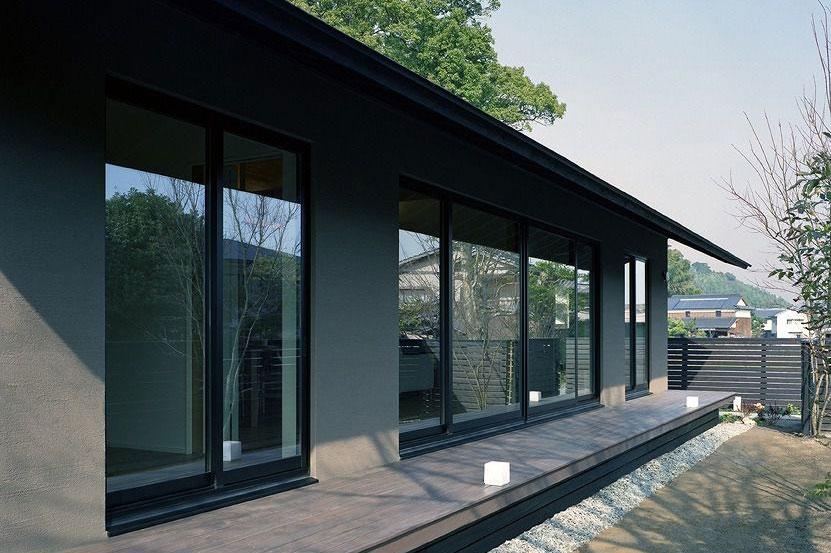 美しい軒の出とデザイン